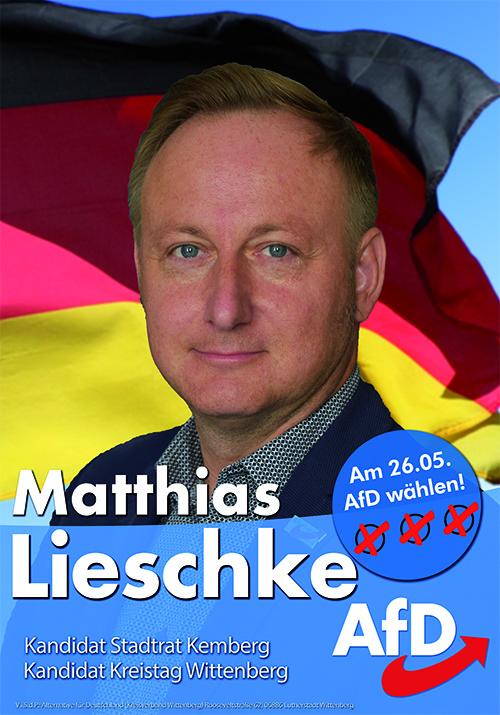 Ihr Kandidat für Stadtrat Kemberg und Kreistag Wittenberg!